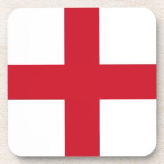 English flag beverage coaster
