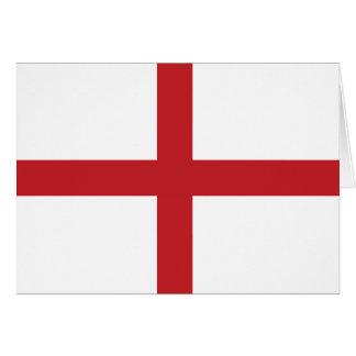 English flag card