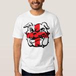 English flag,English Bulldog T-Shirt