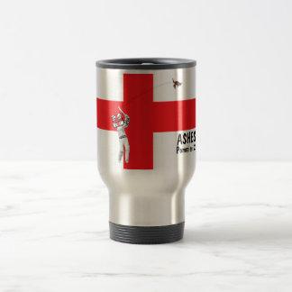 English flag-English cricket Barmy Army 15 Oz Stainless Steel Travel Mug