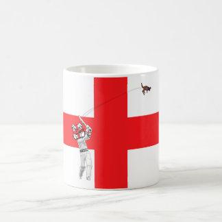 English flag-English cricket Barmy Army Classic White Coffee Mug