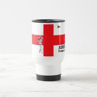 English flag-English cricket Barmy Army Travel Mug