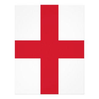 English flag letterhead