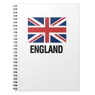 English Flag Notebook