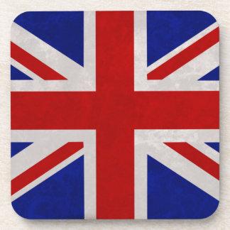 English flag of England textured Beverage Coaster