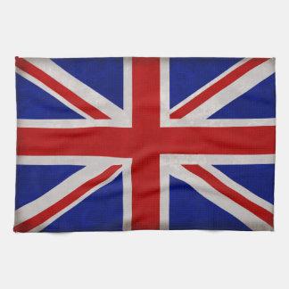 English flag of England textured Kitchen Towel