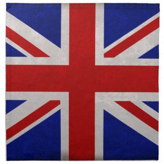 English flag of England textured Napkin