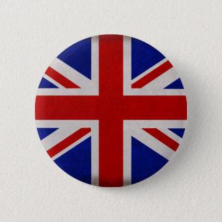 English flag of England textured Pinback Button