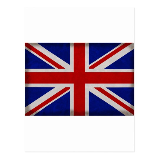 English flag of England textured Postcard