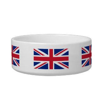 English Flag Cat Bowl