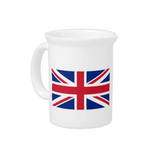 English Flag Pitcher
