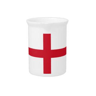 English flag drink pitchers