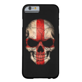 English Flag Skull on Black Barely There iPhone 6 Case