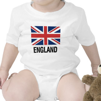 English Flag Rompers