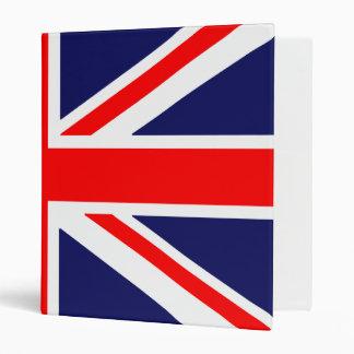 English Flag - Wrap Around Binder