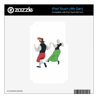 English Folk Dance Decal For iPod Touch 4G