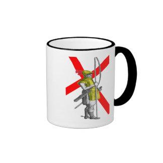 English Foot Soldier Ringer Coffee Mug