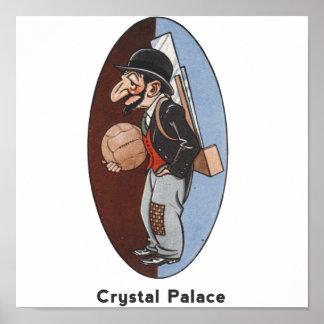 English Football Team - Crystal Palace Poster