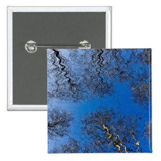 English Forest Art 2 Inch Square Button