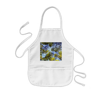 English Forest Art Aprons