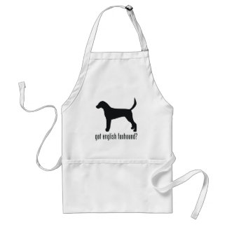 English Foxhound Adult Apron