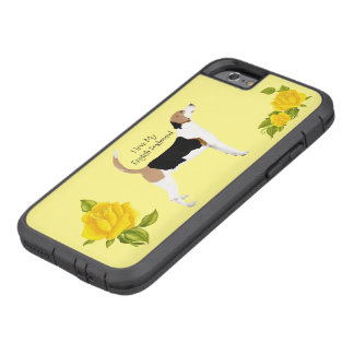 English Foxhound and Yellow Roses Tough Xtreme iPhone 6 Case