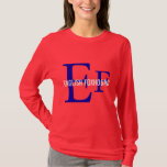 English Foxhound Breed Monogram T-Shirt