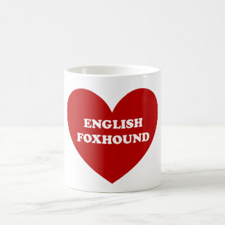 English Foxhound Coffee Mug