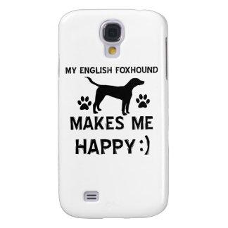 English Foxhound dog designs Samsung S4 Case