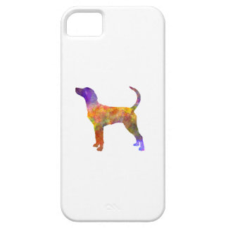 English Foxhound in watercolor iPhone SE/5/5s Case