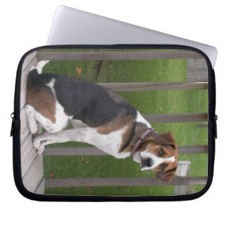 English Foxhound Laptop Sleeve