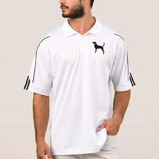 English Foxhound Silhouettte Polo Shirt
