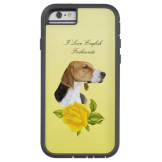 English Foxhounds and Yellow Roses Tough Xtreme iPhone 6 Case