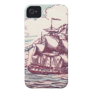 English frigate off the Canadian coast iPhone 4 Covers