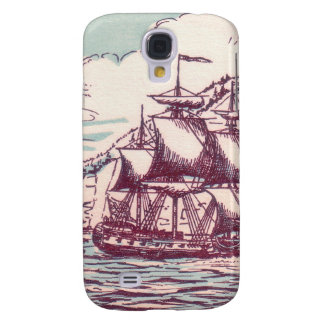English frigate off the Canadian coast Samsung Galaxy S4 Cases