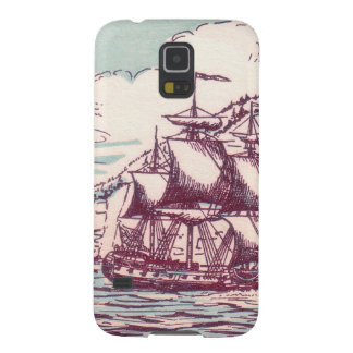 English frigate off the Canadian coast Galaxy S5 Cover