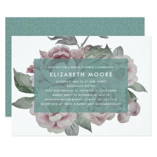 English Garden Bridal Shower Invitation   Jade