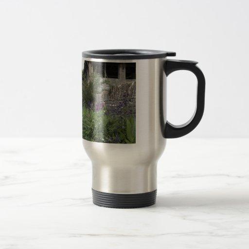English Garden - Church Coffee Mugs