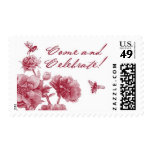 English Garden E by Ceci New York Postage Stamp