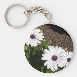 English Garden Floral Keychain