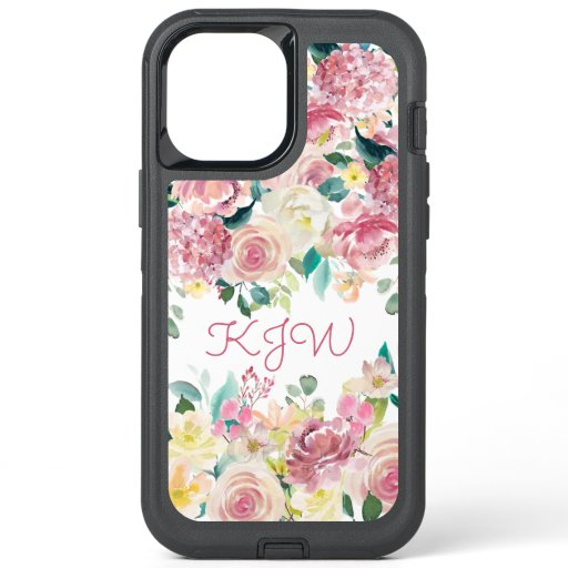 English Garden Floral OtterBox Defender iPhone 12 Pro Max Case