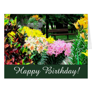 English Garden Birthday Gifts On Zazzle