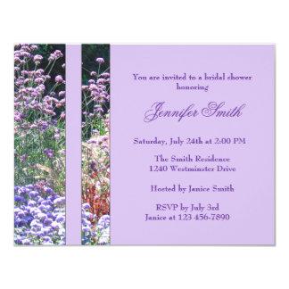 English Garden Florals Bridal Shower Invitation