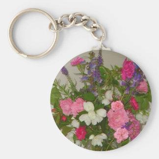 English garden keychain