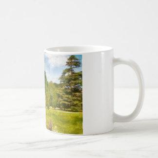 English Garden Classic White Coffee Mug