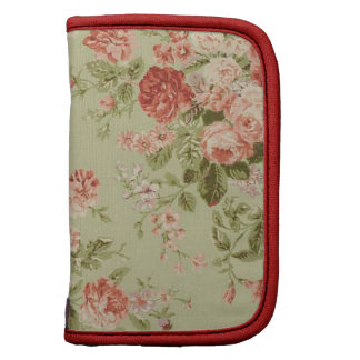 English Garden: Pink & Red Roses Folio Planner