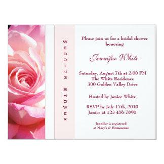 English Garden Rose Bridal Shower Invitation
