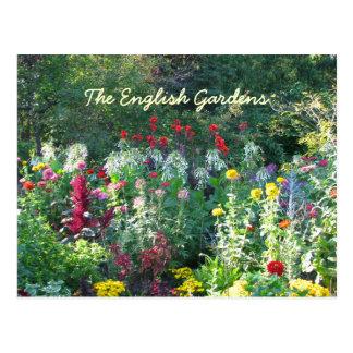 English Garden s Postcard