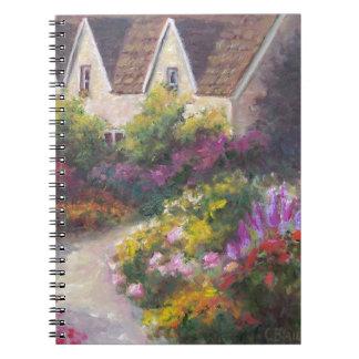 English Garden Spiral Notebooks