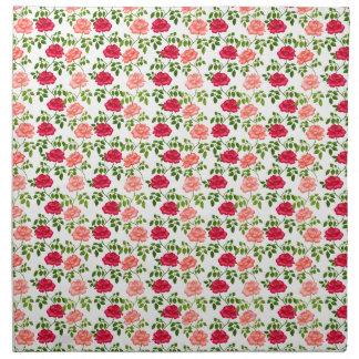English Garden Tea Roses Napkins